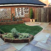 Revamp of town garden in Horley