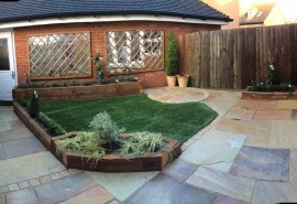 Revamp of town garden in Horley